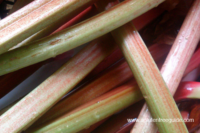 Rhubarb sans Strawberries