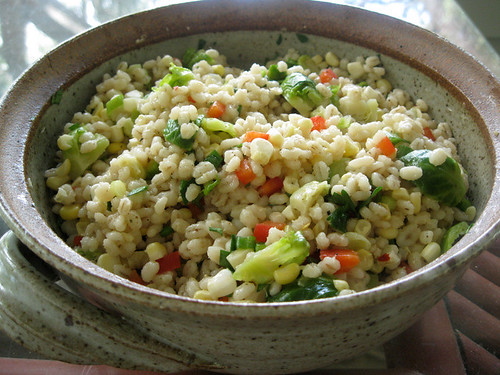Barley Veggie Salad