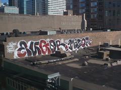 AUGOR & MAYOR (2) (Billy Danze.) Tags: chicago graffiti mayor xmen msk d30 kwt augor 2nr