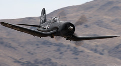 Corsair (EverydayTuesday) Tags: speed aircraft nevada navy fast corsair reno 2009 warbird rara fenceline stead f4u airracing renoairraces canon70300is propblur canonef70300mmf456isusm dougmathews pylonracing canon40d nationalchampionshipairraces valleyofspeed