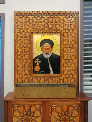 Saint Mary and Saint Abraam Coptic Orthodox Church, in Saint Louis County, Missouri, USA - Icon of Saint Abraam