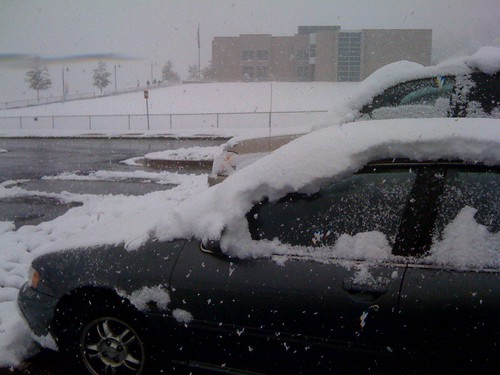 Freakin' Snow!