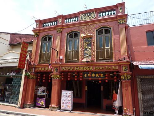Jonker Street Map Melaka