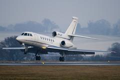 P4-JET - Private - Dassault Falcon 50 - Luton - 090107 - Steven Gray - IMG_5177