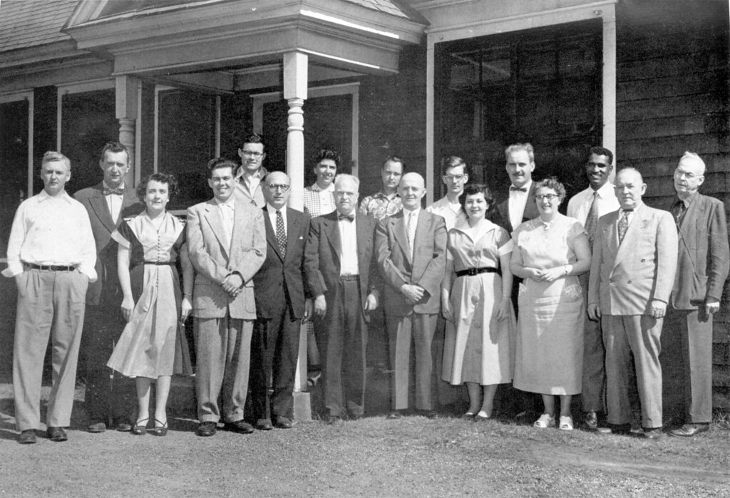 Lawrence Experiment Station Staff (1953)