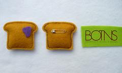 Tostadas con mermelada $1500 - by Pins BOTNS