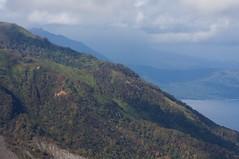 風不死岳の斜面