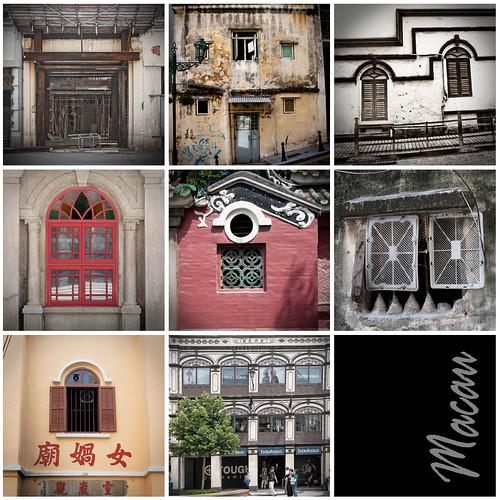 Macau :: Wall Mosaic