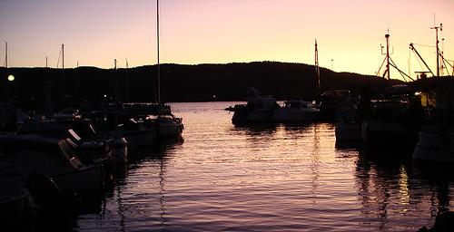 Sunset in Drøbak