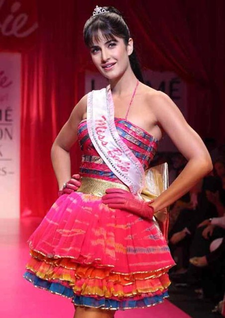 Katrina Kaif as Barbie Doll on the ramp