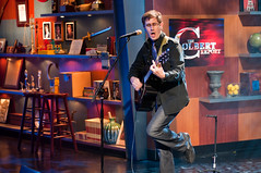 John on set (Lalitree) Tags: nyc studio tv rehearsal colbert themountaingoats tmg comedycentral thecolbertreport
