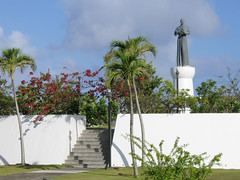 Oka Point Loop Statue of Archbishop Flores