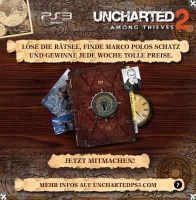 Uncharted 2 Gewinnspiel