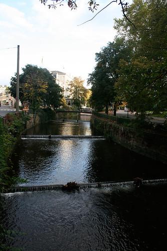 Fluß an der Kaiserallee