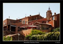 Roussillon (Vaucluse) (TravelPict) Tags: france canon village provence roussillon vaucluse lubron