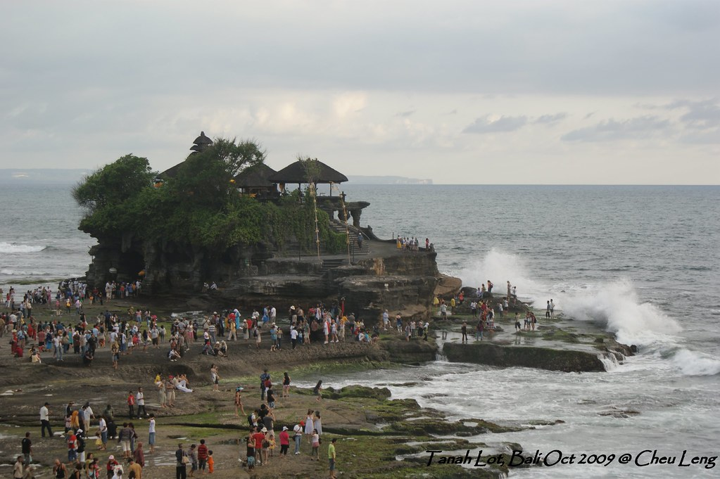 Temple at Tanah Lot, Bali