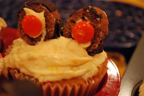 Googly Eye Cupcakes