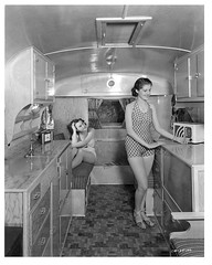 trailerpeeps_3 (ricksoloway) Tags: photohistory foundphotos photographica mobilehomes traveltrailers phototrouvee vintagebathingsuits