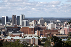 Birmingham, Alabama (Flightline Aviation Media) Tags: city skyline birmingham alabama canon50d bruceleibowitz