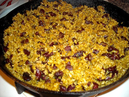 Mexican Green Rice and Beans
