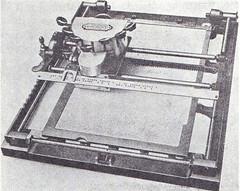 Constançon Blindenschreibmaschine