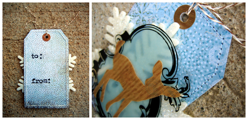 CC Christmas Tags 2009 Collage