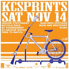KCSprints race 1 - final flyer