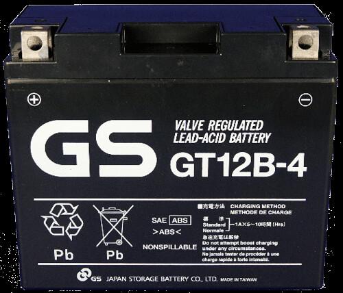 gs gt12b-4 แบตเตอรี่มอเตอร์ไซต์