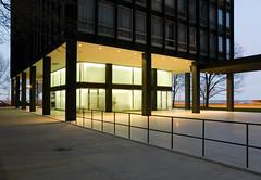 860 880 Lake Shore Drive Apartments (faasdant) Tags: lake chicago black glass drive twilight apartments steel north shore van travertine der mies streeterville rohe 880 sandblasted 860