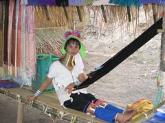 Karen long neck tribal lady