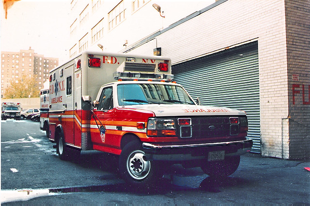bus ford fire ambulance trucks 1994 fdny f350