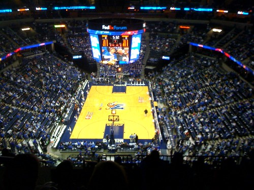 University of Memphis Tigers at the FedExForum