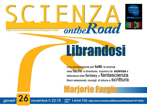 Scienza on the road_Marjorie4_ LECCE CITY_261109tex4poster