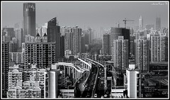 Twenty million stories out there and they're naked, cities is a pity. . . (! ! JJJJJJJ) Tags: china city bridge houses red urban public modern asian highway gate with shanghai expo photos chinese shapes cities tagged roofs communism housing pudong shanghaiist crowds videos lu 2010 luban jjjjjjj line4 puxi shuen shanghaist expo2010 lupu