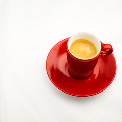 red cup & coffee (dongga BS) Tags: red rot cup tasse coffee kaffee expresso redcup canoneos50d ef50mmf12lusm rotetasse