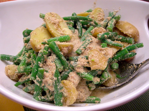 Guatemalan Potato and Fresh Green Bean Salad