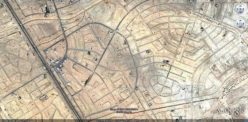 Salton City on Google Earth