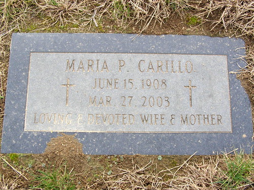 is mary carillo gay. WINDSOR LOCKS - ST MARY'S CEMETERY - CARILLO - 02
