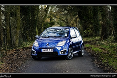 Renault Sport Twingo 133 CUP Toned Down Shot (NWVT.co.uk) Tags: road blue autumn cup wet water leaves sport by french focus day photographer shot state low dream surreal sunny down automotive jeremy save front dirty renault professional clean quarter toned destroyed beading angled freelance 133 selective clarkson twingo on the focusing anthracite not nwvtcouk nwvt rosskempnotincluded