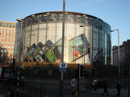 london imax ipod touch advert. Image by osde8info
