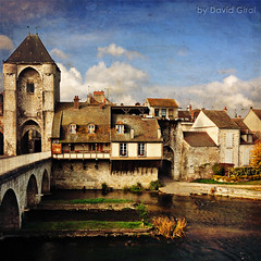 The Old City of Moret Sur Loing II (David Giral | davidgiralphoto.com) Tags: old houses david texture yellow seine paper sigma sur 1020mm 16mm et dri moret marne loing giral sigma1020 francelandscapes renaudcamus journaldunvoyageenfrance pages3033