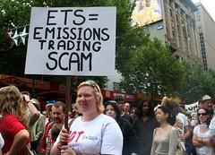 ETS = Emission Trading Scam