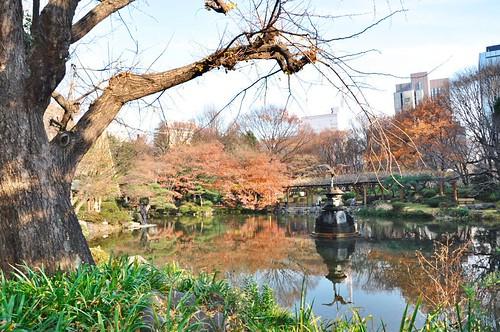Hibiya park pond