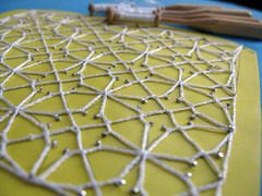 Bobbin Lace Ground No.38 d