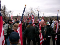 Wreaths Across America 09 (proudnamvet........Patriot Guard Riders) Tags: cemetery respect guard honor national mission arkansas patriot wreaths teach fayetteville riders