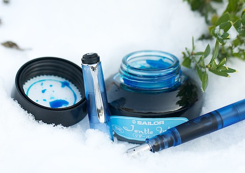 Sailor Jentle Ink Yuku Akari Light Blue