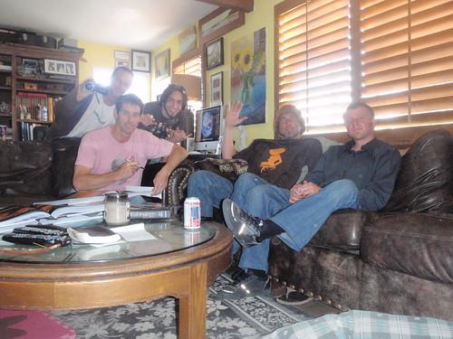 Pete,Robb Havassy,Jay Alders,Chris Pederson & Charlie Clingman