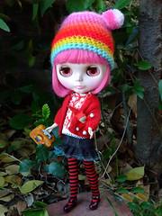 Off to Grandma's House (disco*dollies) Tags: nova doll heaven blythe ih ichigo novablythe simplykircap