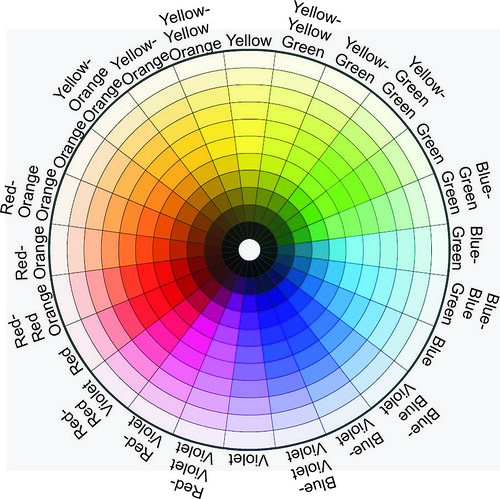 All around the 24 segment color wheel with Water Soluble Oils 4229368950_80f25a19b2