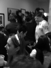 NYE 2010 (Anagnorisis Art Project) Tags: party loft brooklyn nye newyearseve 2010 artexhibit danielleezzo anagnorisis camdeleon teeteringbulb carrieannbaade christopherconte samanthalevin caitlinhackett heathergargon alexpassapera nikkisneakers danouellette paulloughney